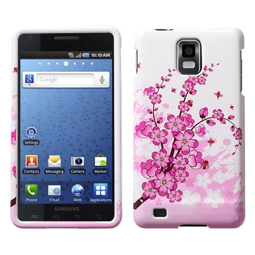 Design Hard Protector Skin Cover Cell Phone Case for Samsung Infuse 4G I997 AT - Spring Flowers $0.05