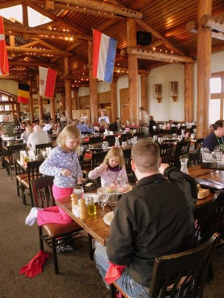 Dining Room At Der Fondue Chessel Keystone Resort Best Food Most Fun Gondola Ride There