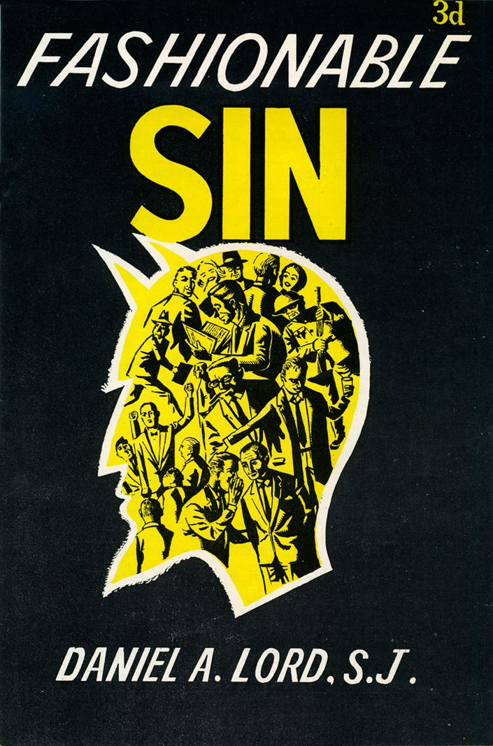 Sin will never go out of style. (1957)   Vintage Book and Magazine ...