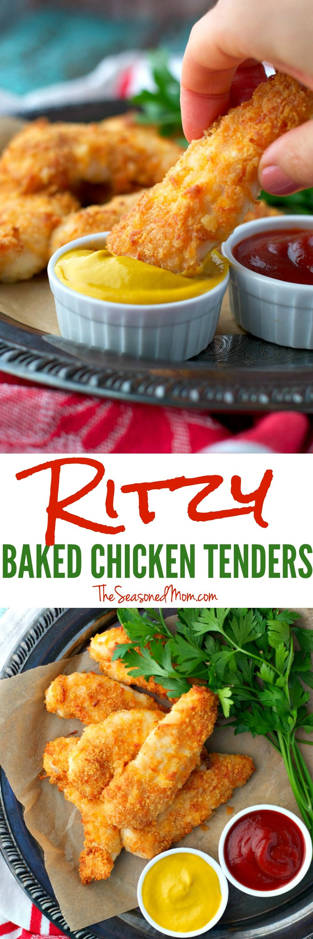 Ritzy Baked Chicken Tenders Recipe My Recipe Magic