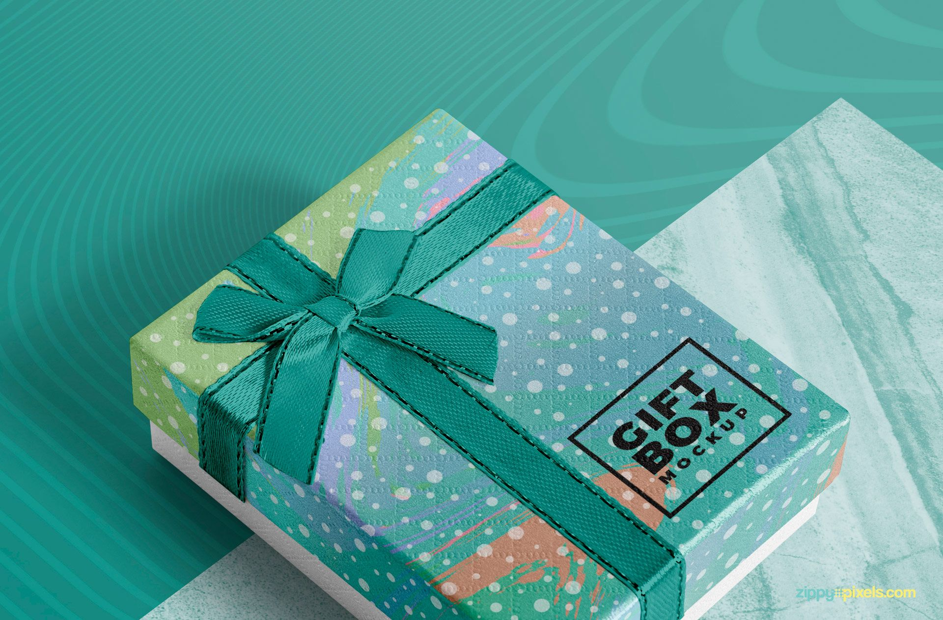 Download Gift Wrapping Mockup Free Yellowimages