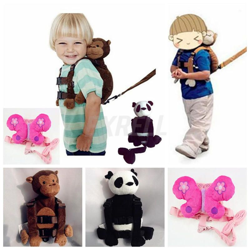 Safety Harness Leash Strap Baby Kids Toddler Walking Cosplay Backpack Reins  Bag  UnbrandGeneric 358ebe9194480