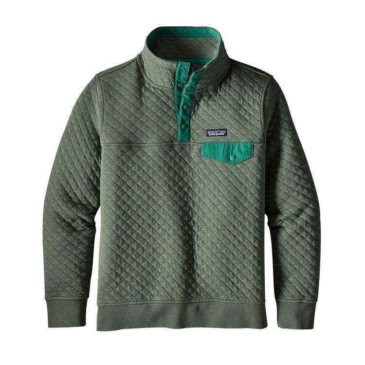 Women's Organic Cotton Quilt Snap-T® Pullover   Cotton quilts ... : quilted cotton - Adamdwight.com