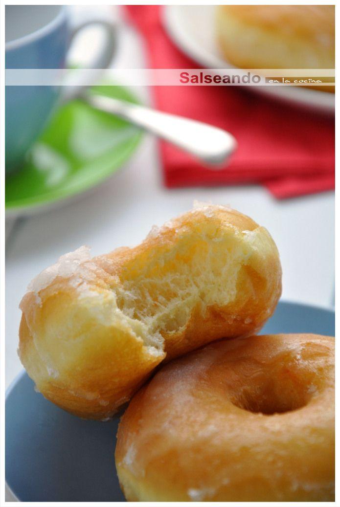 Salseando en la cocina: Classic Donuts. Bocaditos de cielo azucarados.