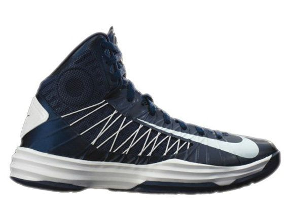 df55417c161f Hyperdunk 2012 for Women Nike Hyperdunk Womens 2012 midnight navy white  .Nice ! 50% Off !!
