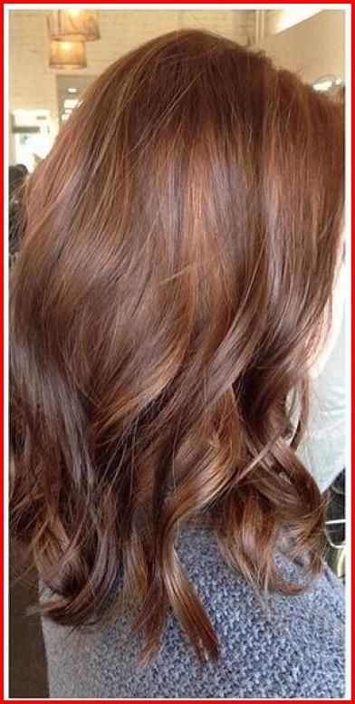Cool Winter Hair Colour Styles Let S Not Waste Any Time To Choose Your Next Cool Winter Hair Colo Color De Pelo Castano Cabello Color Cobrizo Marron Cabello