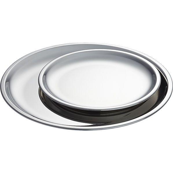 Marvelous Modern Dining Sets And Dishware. Appetizer PlatesDinner PlatesStainless  Steel PlateKitchen ...