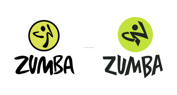 How We Fixed The World S Worst Logo Bad Logos Logos Zumba