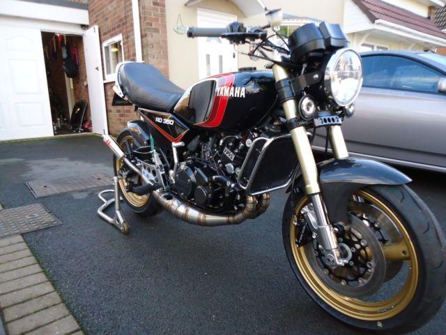 Yamaha rd lc rd350lc rd 350 lc ypvs rgv hybrid     stunning