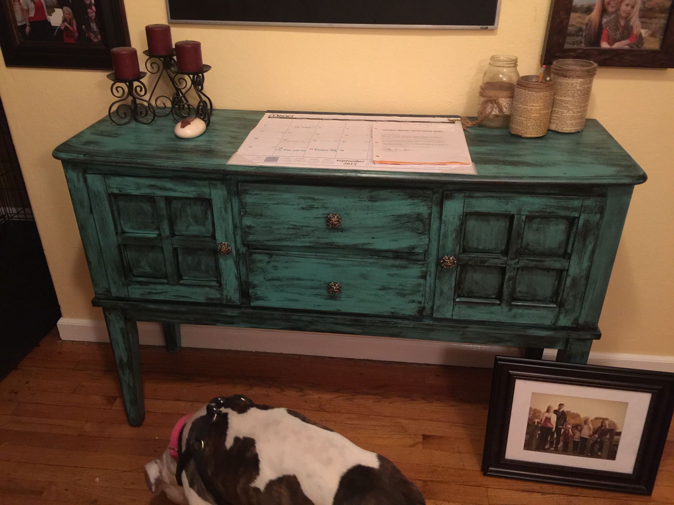 Breathe New Life Into Outdated Furniture Refinished Bedroom