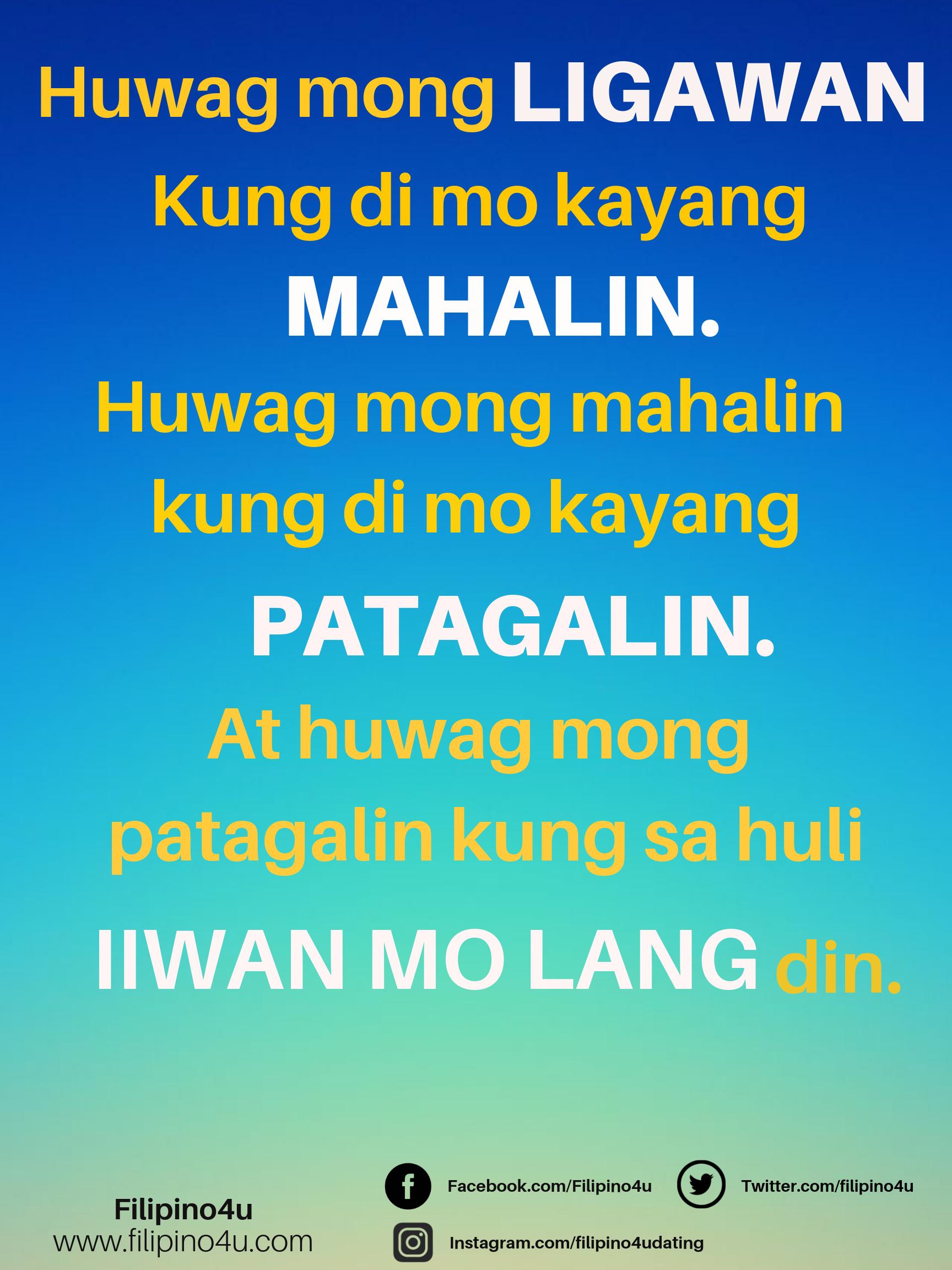 Paasa Hugot Line Hugot Lines Tagalog Hugot Hugot Quotes