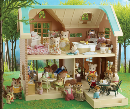 SYLVANIAN FAMILIES Larchwood Lodge My nieces need this