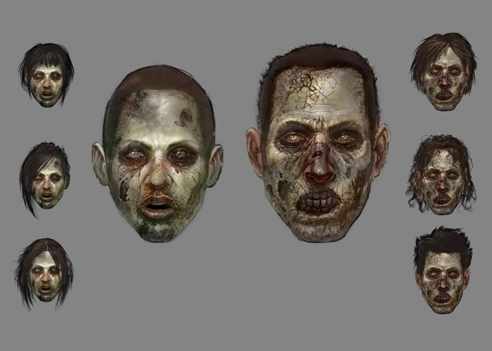 Zombie Face Concept Art Resident Evil Operation Raccoon City Art Gallery Zombie Face City Art Operation Raccoon City
