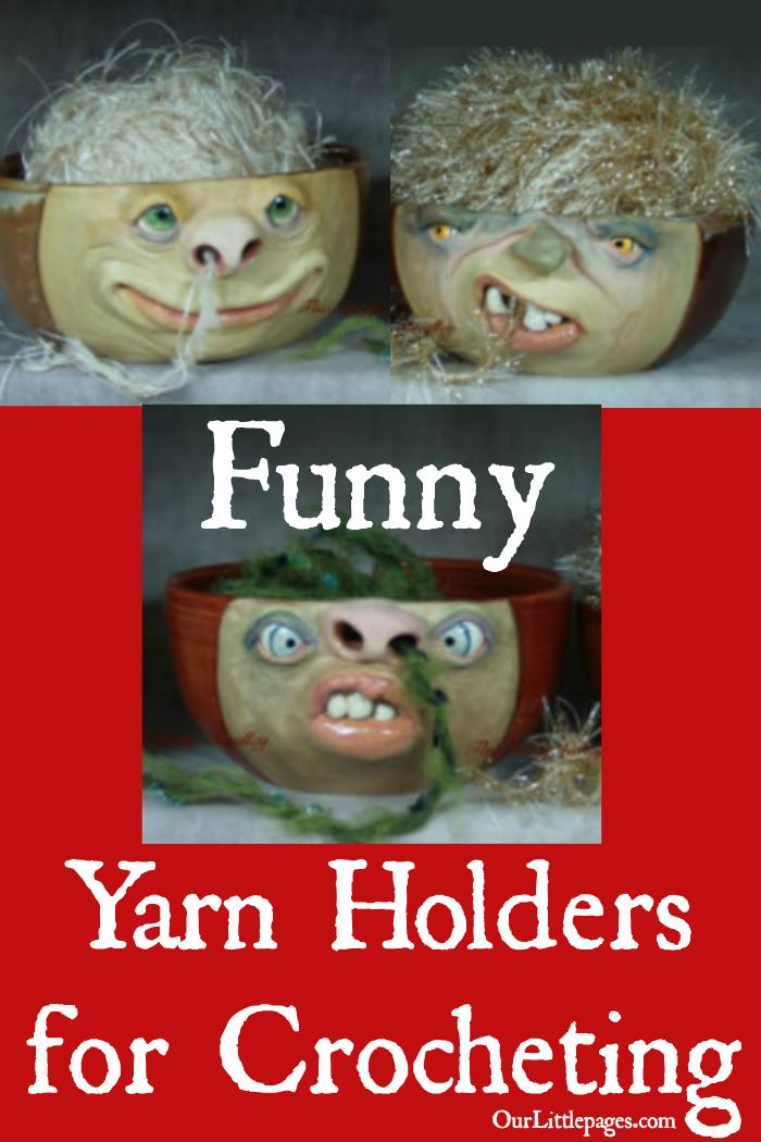 Yarn Holders for Crocheting #diyyarnholder