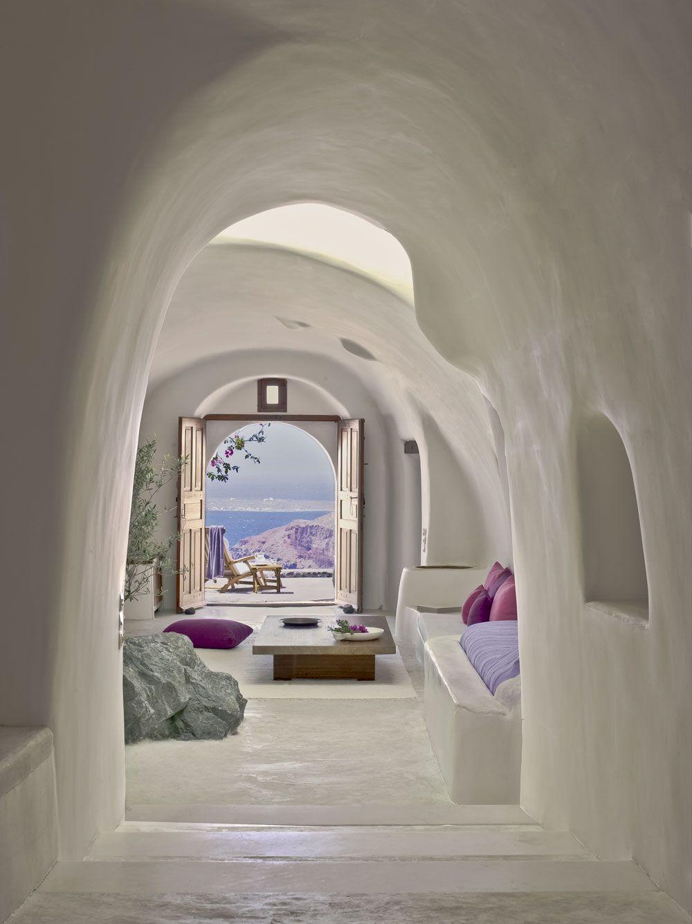 Perivolas Hotel in Santorini, Greece