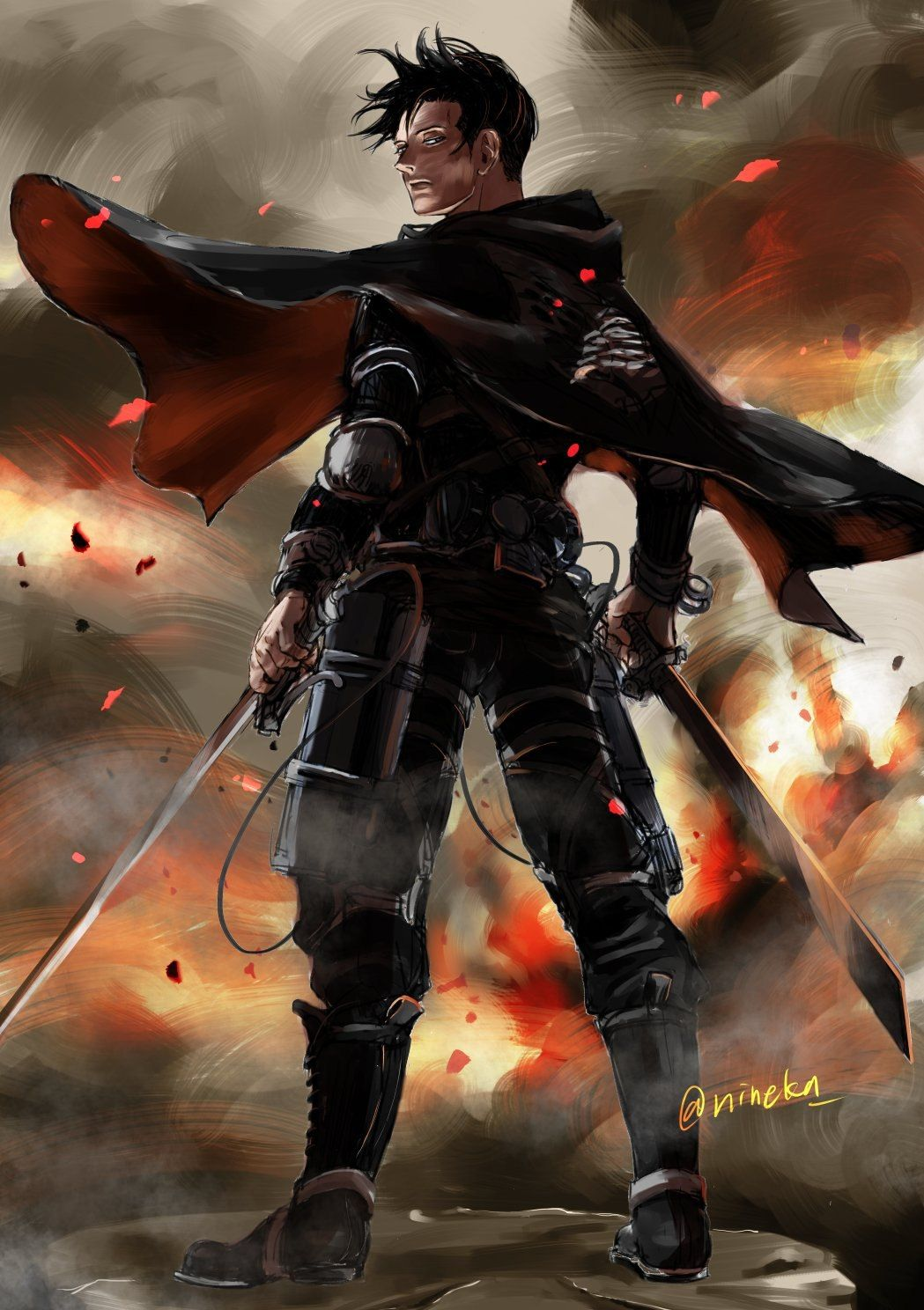 Pin by Doel Nath on attack on titan   Attack on titan levi ...