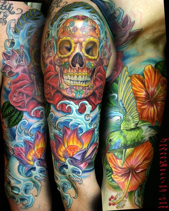 2265e1926 Image detail for -Nautilus Tattoo Tattoos Animal Flowers Skulls Water And  Birds