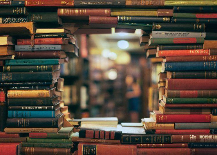 Books Library Bokeh Depth Of Field Hd Wallpaper Book Background Hd Wallpaper Books