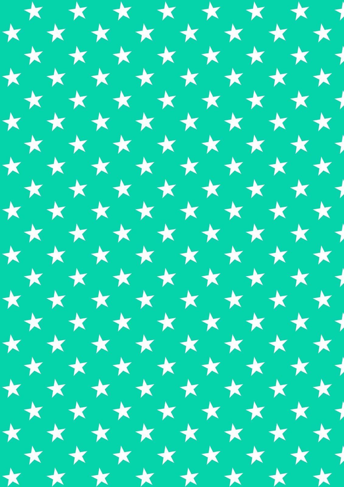 Free Digital Star Scrapbooking Paper Ausdruckbares Geschenkpapier