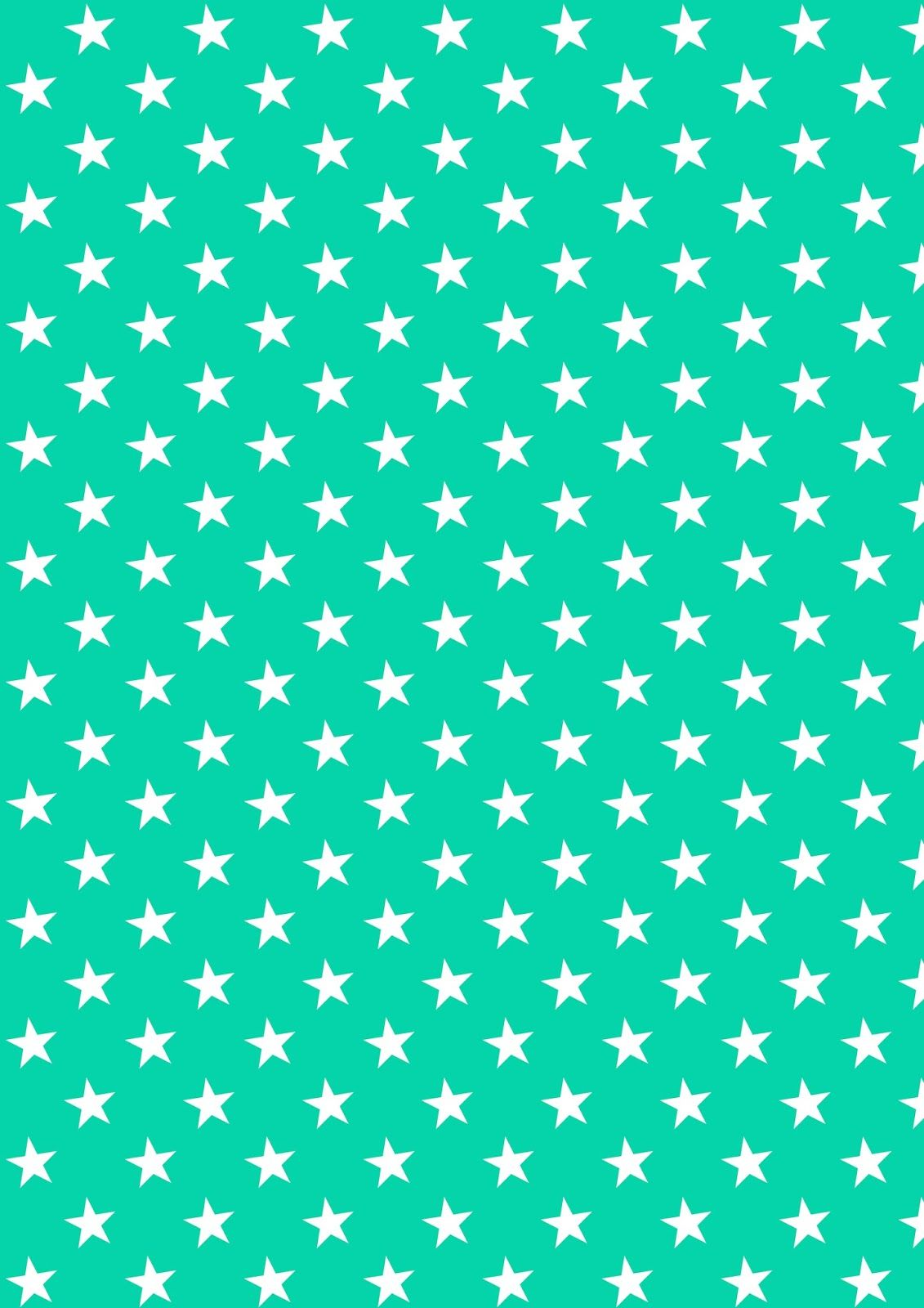 Worksheet Pattern Printable free digital chevron scrapbooking papers ausdruckbares printable white stars on green pattern paper