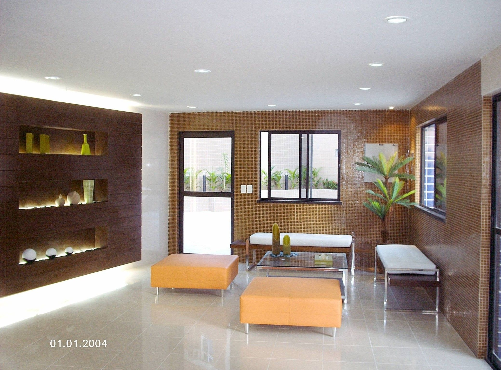 Projeto Espaço de eventos - área de lazer edifício residencial