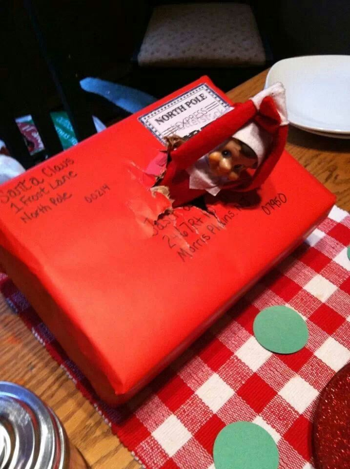 Great way to intoduce elf to the family Elf Pinterest Elves