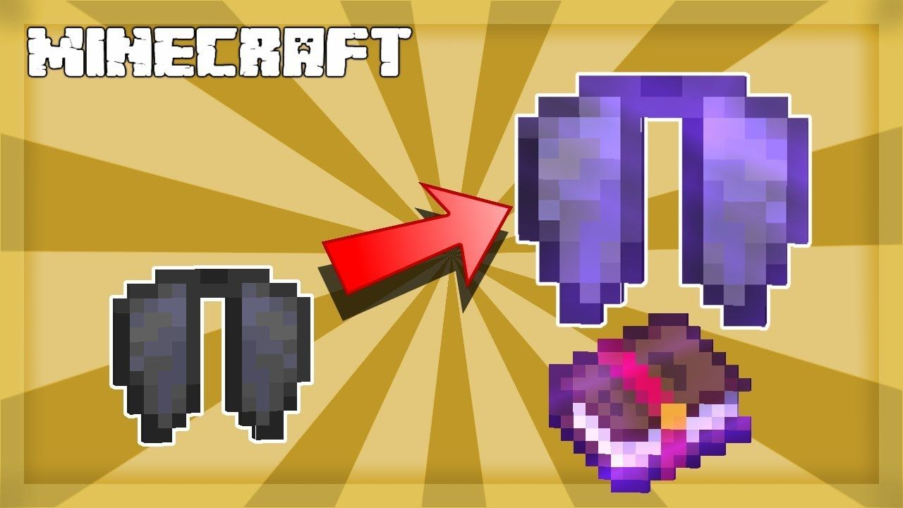 Minecraft Elytra Enchantments