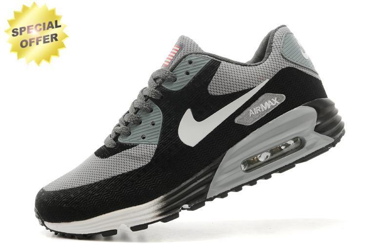 new products 9232b 9dc58 Mens Nike Air Max 90 HYP PRM Black Gray White   Cheap Fashion Adidas ...