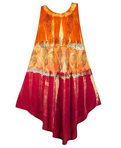 7da9f3d19ee Plus Size Orange Ombre Dress --Size  one size Color  Orange in 2018 ...