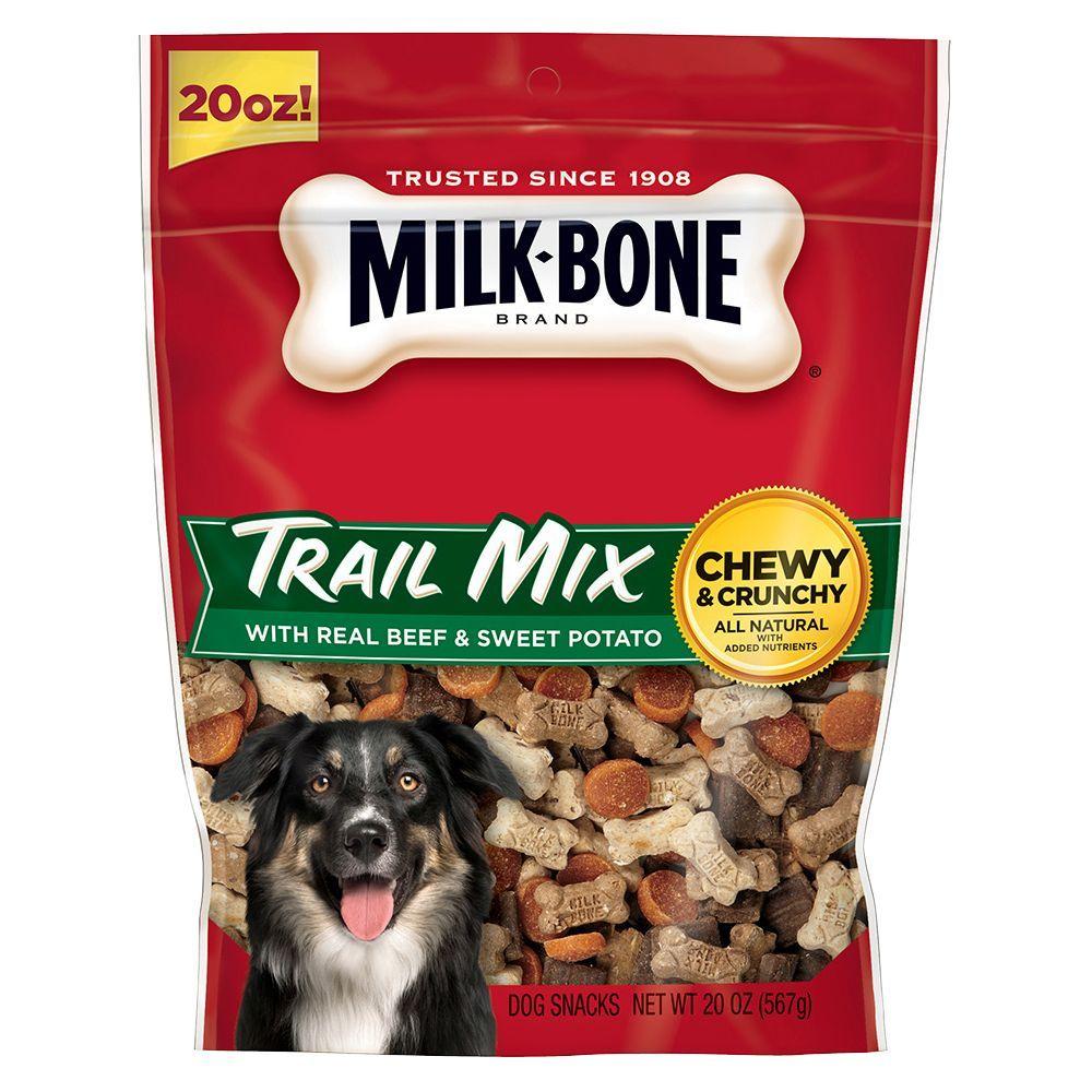 Milk Bone Trail Mix Dog Treat Size 20 Oz Ivory Biscuit Puppy