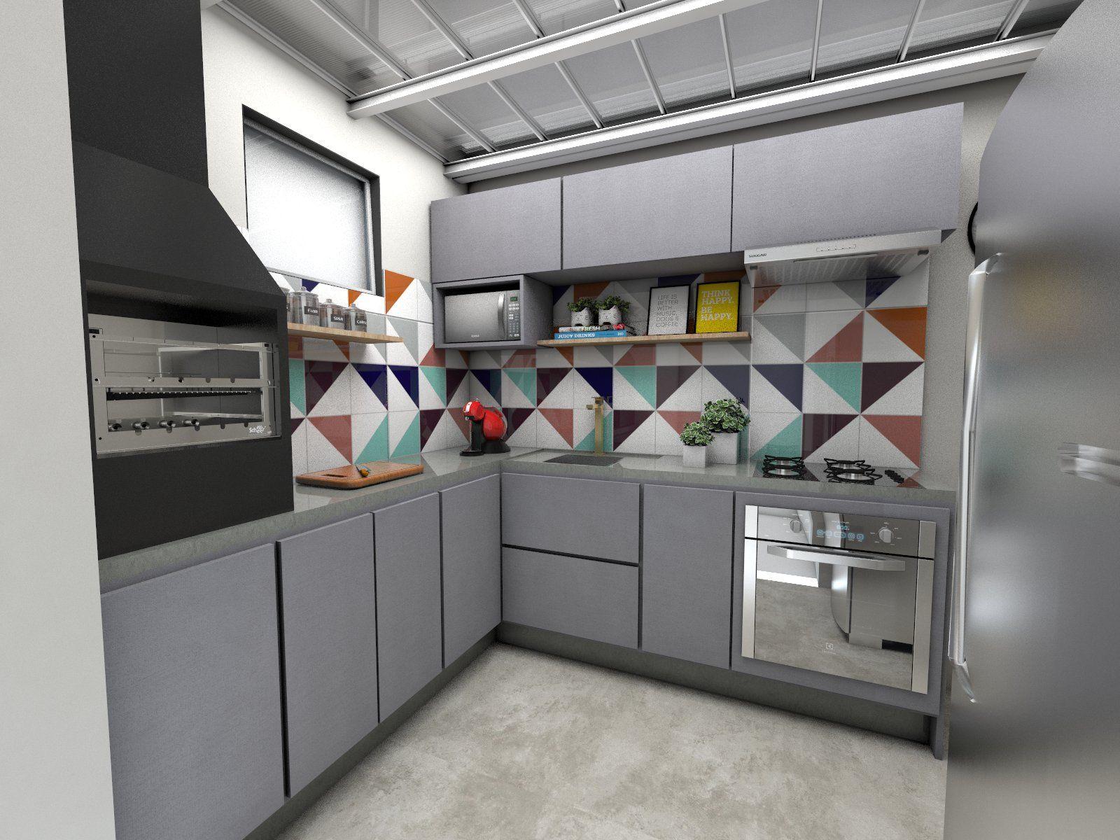 Cozinha Pequena Arquitetura Cozinha Americana Sala Tv Ideias Do