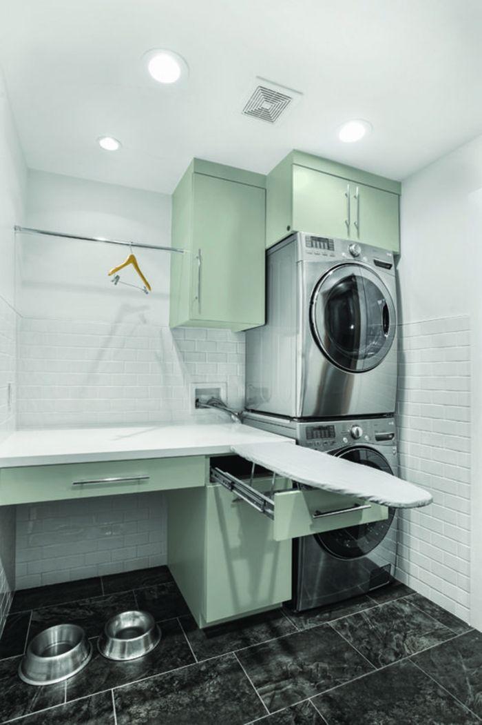 1001 id es comment am nager sa buanderie fonctionnelle. Black Bedroom Furniture Sets. Home Design Ideas