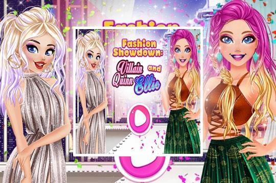 Fashion Showdown Barbie And Harley Coisas De Barbie Jogos De Vestir Jogos Para Meninos