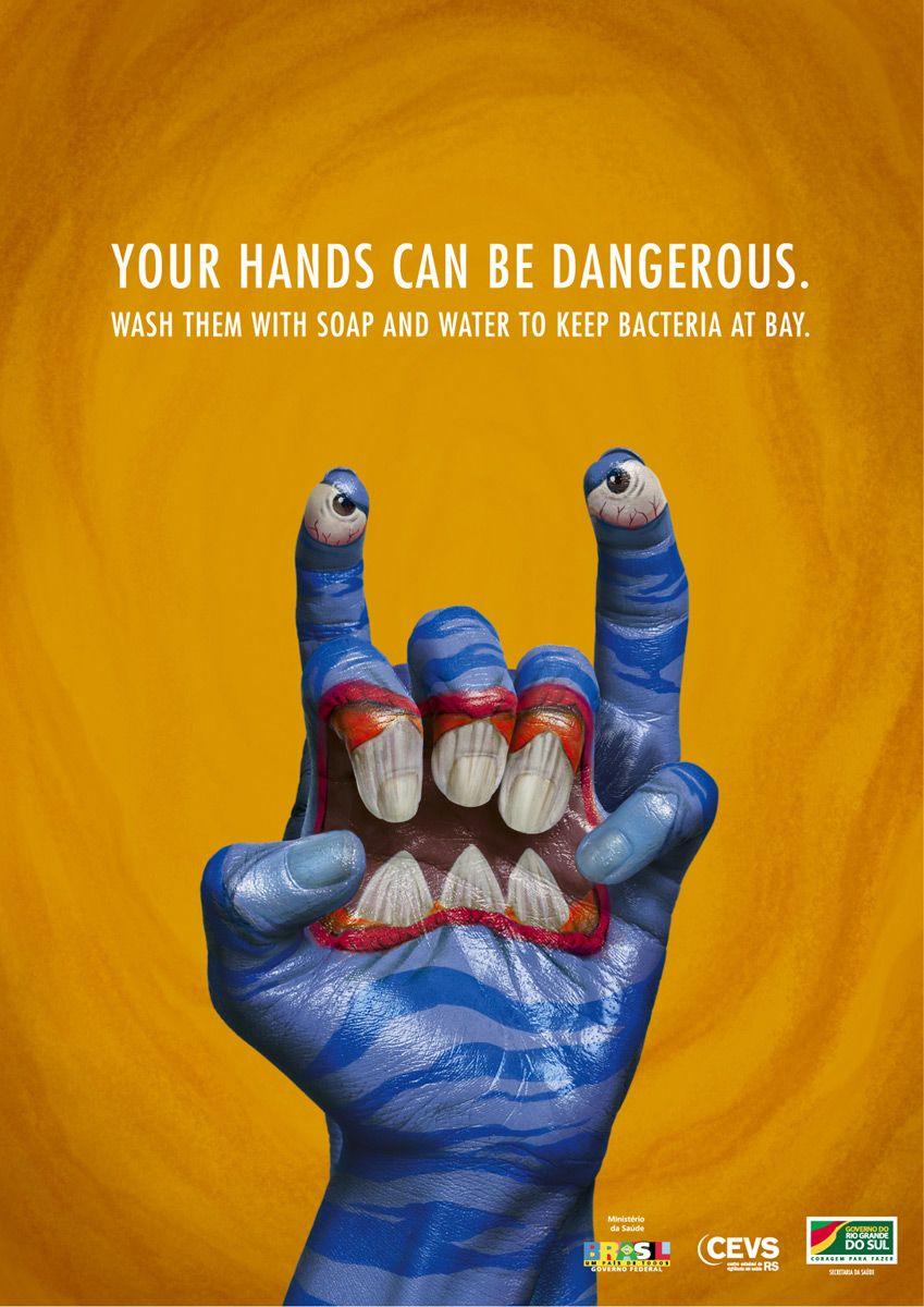 Monster Hands Creative Ad Awards Kreatywne Pomysly Szkola