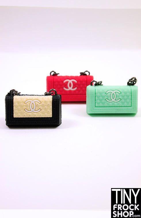 Barbie Chanel Style Boy Handbag - HARD TO FIND