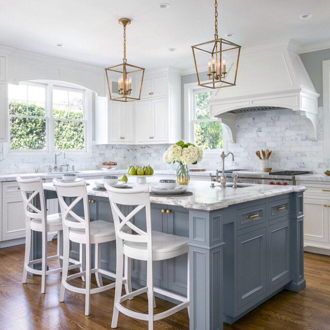 "Home Design/Home Decor on Instagram: ""Pretty kitchen by Christine ..."