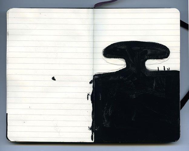 ANISH KAPOOR Sketchbook 2011