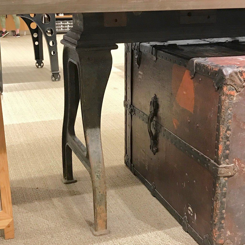 Cast-Iron Legs on Display Table @ NORDSTROM's Chicago - Interior Design Wallpaper by Man_of Steel  Interior Design