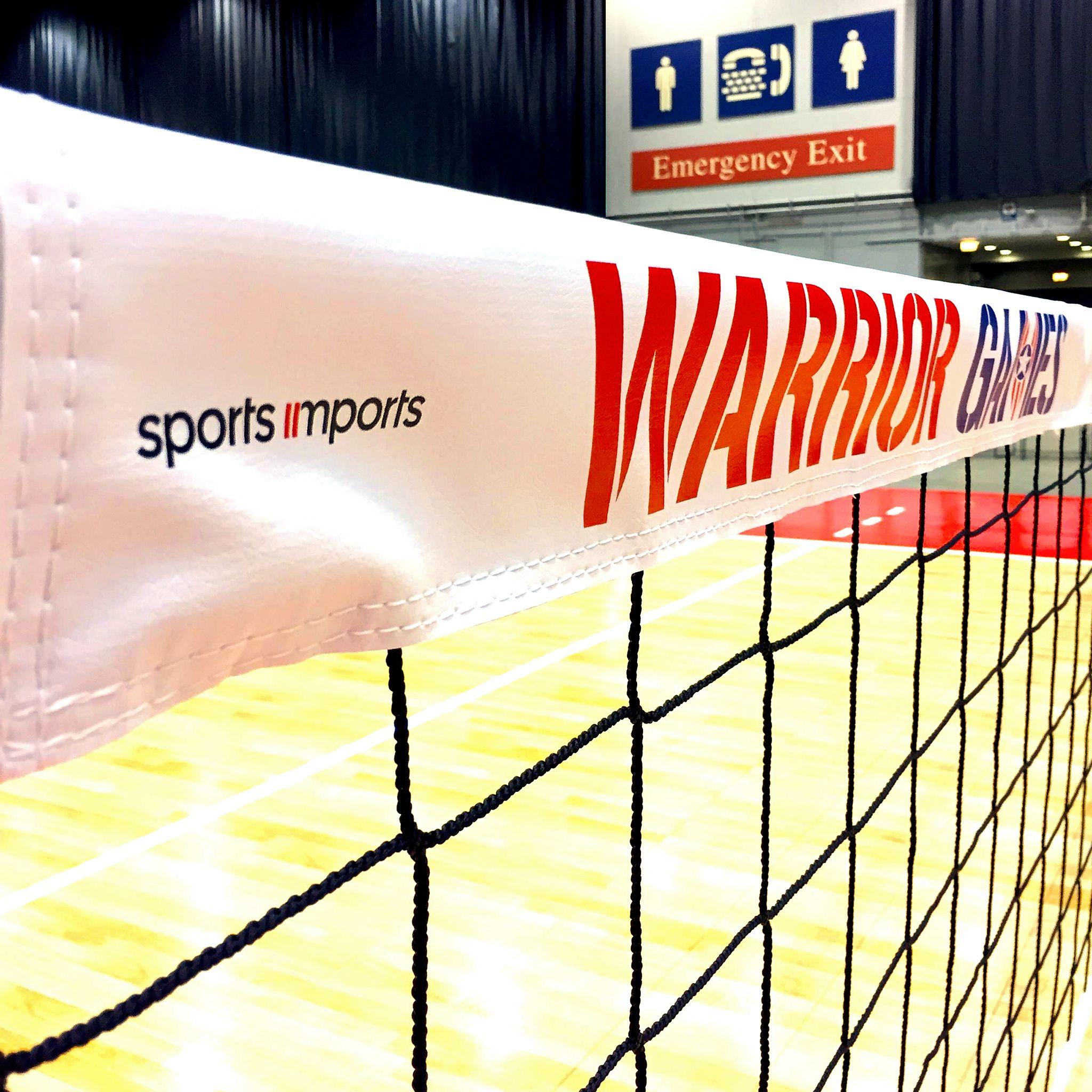 Warrior Games Sitting Volleyball Net Volleyball Net Warriors Game Outdoor Volleyball Net