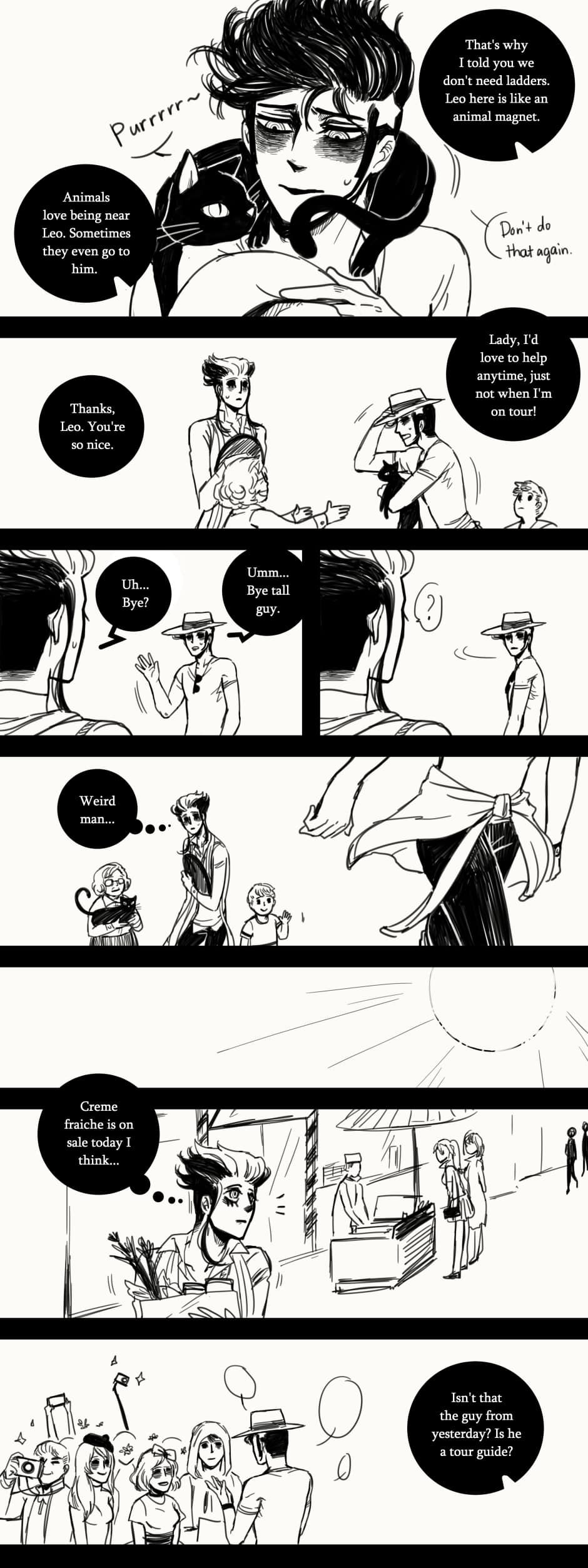A Matter of Life and Death :: Special Episode: 1 Year Anniversary (Part 1) | Tapastic Comics - image 4