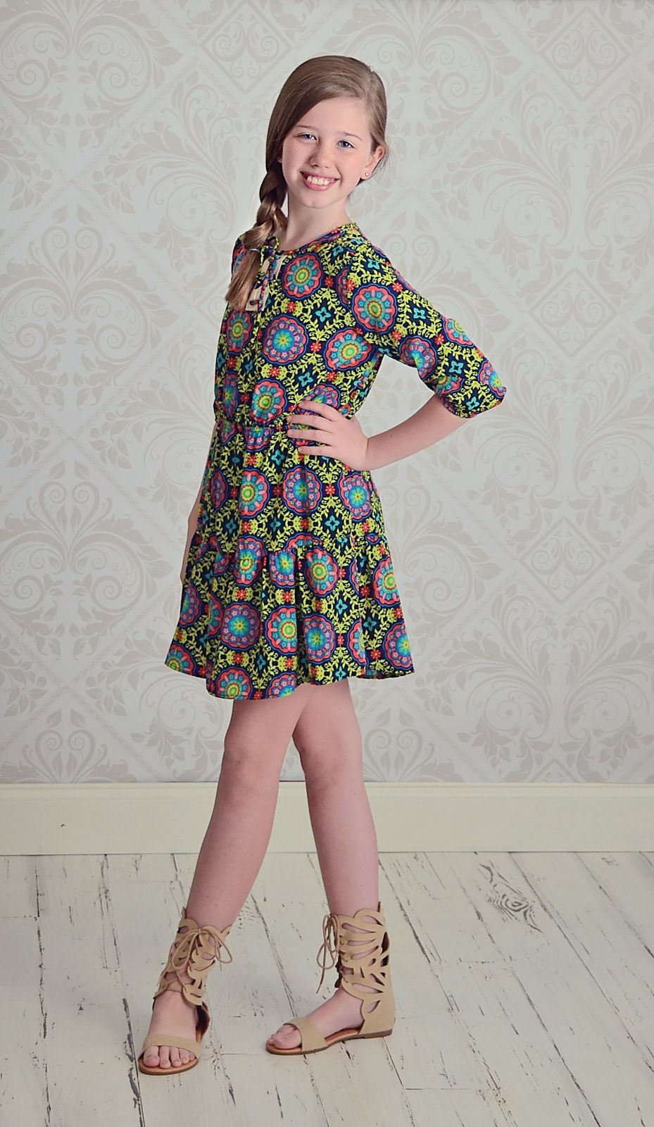Tween Girls Boutique Dresses