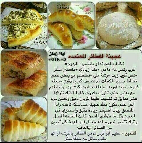 عجينة فطائر Healthy Snacks Recipes Tunisian Food Recipes