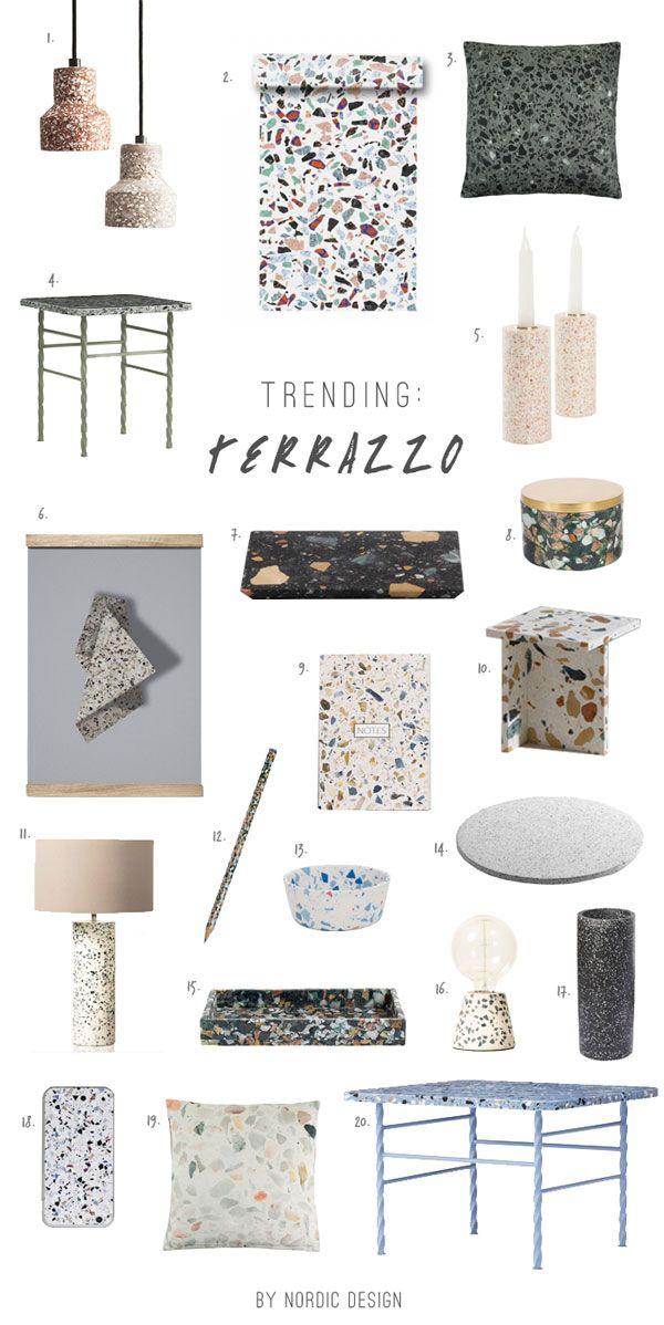 Terrazzo Trend Material 2020 in 2020