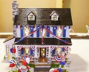 Dept 56 4th Of July Department Dept 56 Time To Celebrate