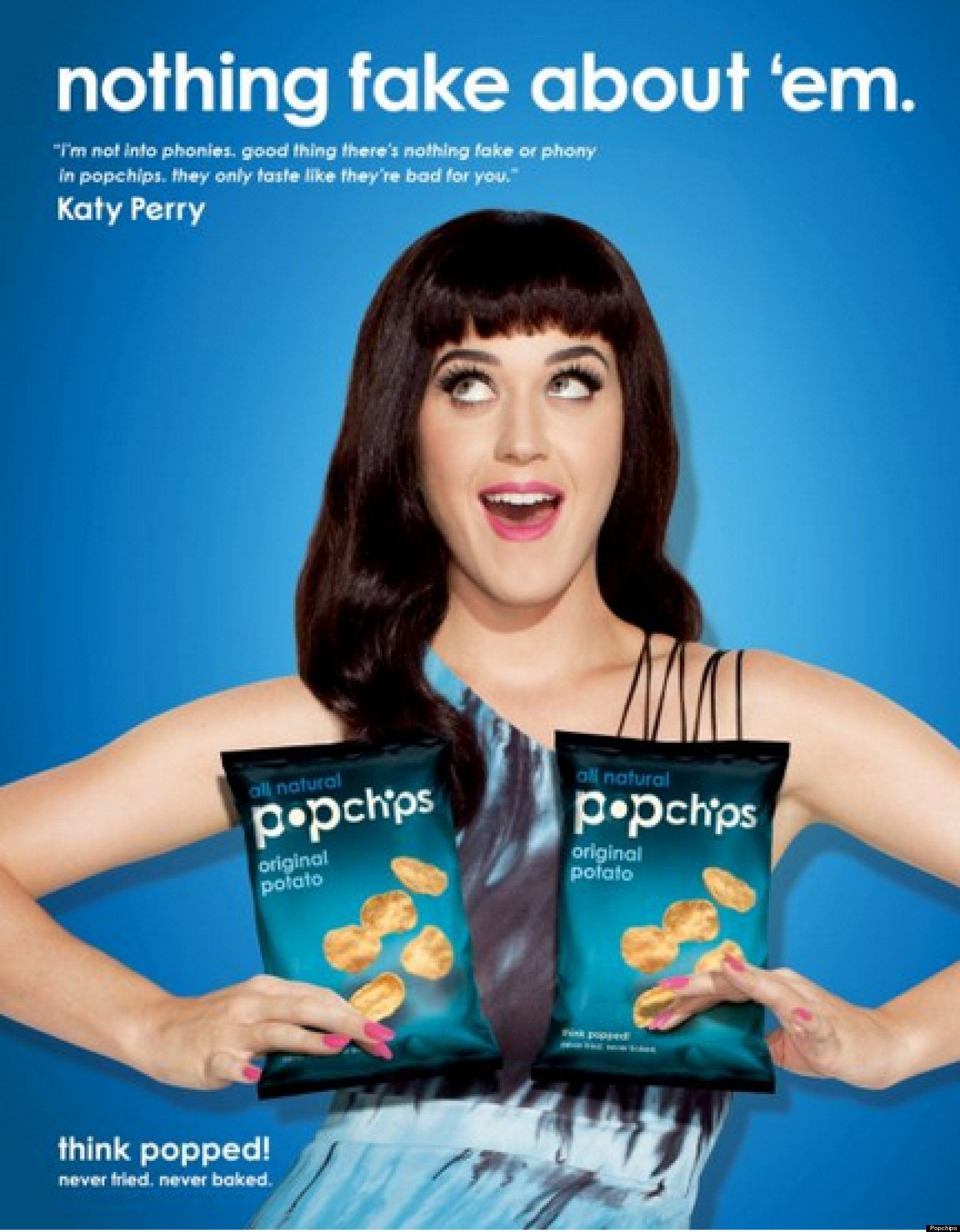 Katy Perry's Popchip Ads Are A Lot Less Offensive Than ... Unethical Ads Example