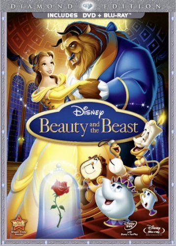 Beauty And The Beast Dvd Blu Ray With Dvd Packaging Amazon Co