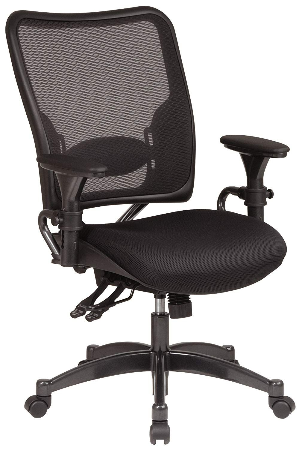 SPACE Seating Professional Dual Function Ergonomic AirGrid