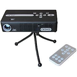 Aaxa Technologies P4x Pico Projector Pocket Size Rechargeable Battery 95 Lumen Led Hdmi Media Player Pico Projector Projector Video Projector