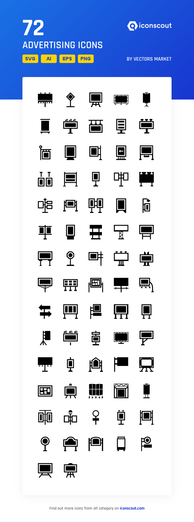 Download Advertising Icon Pack Available In Svg Png Eps Ai Icon Fonts Exhibition Banners Icon Banner Stands