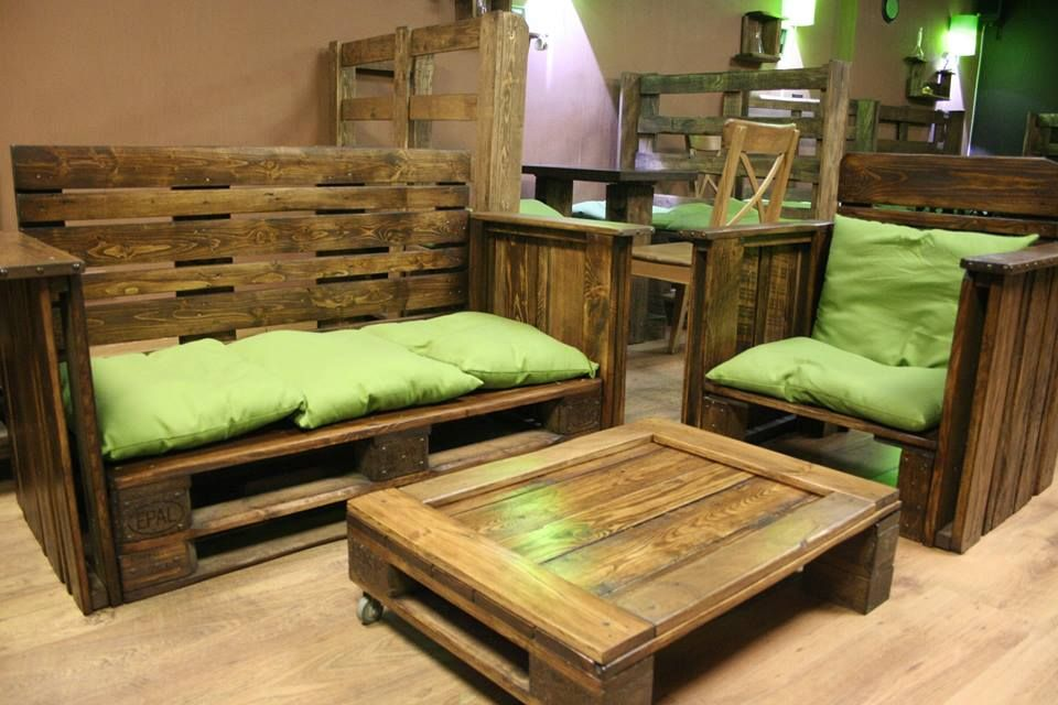 Pin by Thomas Mancino on Inside Ideas | Pallet furniture ...